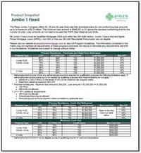 Plaza Home Mortgage Jumbo 1 Product Snapshot THMB